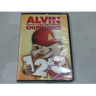 ALVIN AND THE CHIPMUNKS 1, 2 & 3 DVD NEW