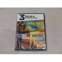MAD MAX FURY ROAD/ ROAD WARRIOR/ BEYOND THUNDERDOME 3 FILM COLLECTION DVD