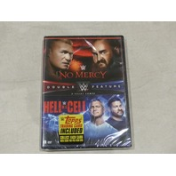 WWE NO MERCY/HELL IN A CELL DOUBLE FEATURE DVD NEW