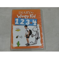 DIARY OF A WIMPY KID 1,2,3 & 4 DVD NEW