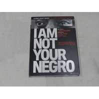 I AM NOT YOUR NEGRO DVD NEW W/ SLIPCOVER