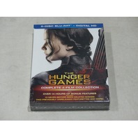 THE HUNGER GAMES: COMPLETE 4-FILM COLLECTION 6-DISC BLU-RAY+DIGITAL HD NEW