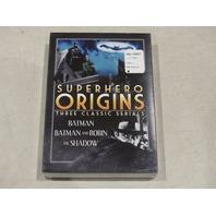 SUPERHERO ORIGINS: THREE CLASSIC SERIALS DVD SET NEW