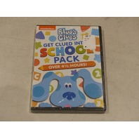 BLUE'S CLUES GET GLUED INTO SCHOOL PACK DVD NEW