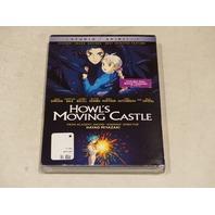 HOWL'S MOVING CASTLE DVD NEW W/ SLIPCOVER