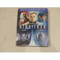 STAR TREK 3-MOVIE COLLECTION BLU-RAY + DIGITAL HD NEW