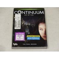 CONTINUUM: SEASON FOUR THE FINAL SEASON DVD SET NEW W/ SLIPCOVER