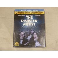 THE DISASTER ARTIST BLU-RAY+ DVD + DIGITAL NEW W/ SLIP