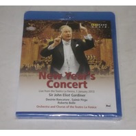 NEW YEAR'S CONCERT 2013 LIVE FROM THE TEATRO LE FENICE SIR JOHN GARDINER BLU RAY D56X022616