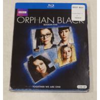 ORPHAN BLACK: SEASON FIVE BLU-RAY SET NEW W/ SLIPCOVER