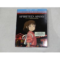 SPIRITED AWAY BLU-RAY + DVD NEW W/ SLIP