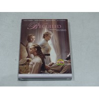 THE BEGUILED DVD NEW W/ SLIPCOVER