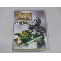 STAR WARS: THE CLONE WARS THE LOST MISSIONS DVD NEW