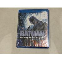 BATMAN THE DARK KNIGHT RETURNS DELUXE EDITION BLU-RAY NEW