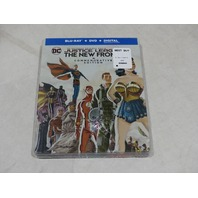 JUSTICE LEAGUE THE NEW FRONTIER COMMEMORATIVE EDITION BLU-RAY + DVD + DIGITAL NE