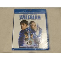 VALERIAN CITY OF A THOUSAND PLANETS BLU-RAY + DVD + DIGITAL HD NEW W/OUT SLIP