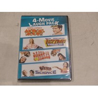 4 MOVIE LAUGH PACK DVD NEW / SEALED ANIMAL HOUSE, WEIRD SCIENCE & MORE