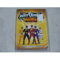 POWER RANGERS: WILD FORCE: THE COMPLETE SERIES DVD SET NEW