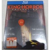 KING OF HORROR COLLECTION BLU-RAY NEW/ SEALED
