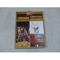 CLASSIC 80S REWIND THE GOONIES, GREMLINS, GREMLINS 2 THE NEW BATCH DVD NEW