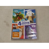 EPIC, ICE AGE, HORTON HEARS A WHO, RIO 4 MOVIE COLLECTION DVD NEW