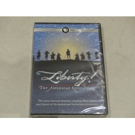 LIBERTY! THE AMERICAN REVOLUTION DVD NEW