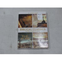 BIBLICAL CLASSICS COLLECTION 4 MOVIES DVD NEW