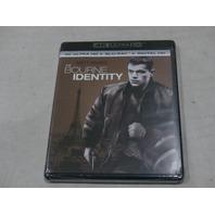 THE BOURNE IDENTITY 4K ULTRA HD+BLU-RAY+DIGITAL HD NEW