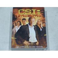 CSI: MIAMI THE COMPLETE SECOND SEASON DVD SET NEW
