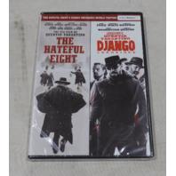 THE HATEFUL EIGHT / DJANGO DVD NEW / SEALED