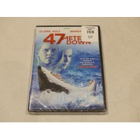 47 METERS DOWN DVD NEW