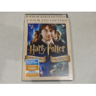 HARRY POTTER AND THE SORCERER STONE/ CHAMBER SECRETS DVD WITH SLIPCOVER