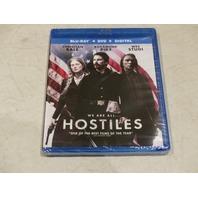 HOSTILES BLU-RAY + DVD + DIGITAL NEW