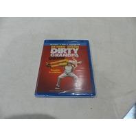 DIRTY GRANDPA UNRATED BLU-RAY + DVD + DIGITAL HD NEW