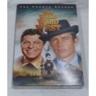 THE WILD WILD WEST: THE FOURTH SEASON DVD SET NEW