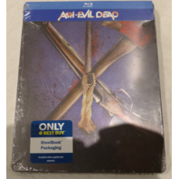 ASH VS. EVIL DEAD: THE COMPLETE SECOND SEASON BLU-RAY STEELBOOK PACKAGING NEW/ SEALED