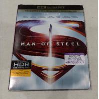 MAN OF STEEL 4K ULTRA HD+BLU-RAY+DIGITAL HD NEW