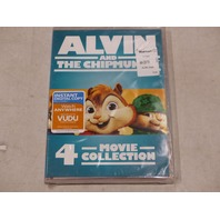 ALVIN AND THE CHIPMUNKS 4 MOVIE COLLECTION DVD NEW