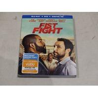 FIST FIGHT BLU-RAY + DVD + DIGITAL HD NEW SEALED W/ SLIPCOVER