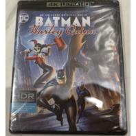 BATMAN AND HARLEY QUINN 4K ULTRA HD+BLU-RAY NEW