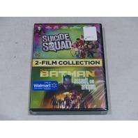 SUICIDE SQUAD/BATMAN: ARKHAM ASYLUM DVD 2-FILM COLLECTION NEW