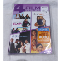 4 FILM: BAGGAGE CLAIM / JUST WRIGHT / OUR FAMILY WEDDING / SECRET LIFE OF BEES