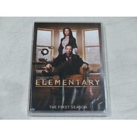 ELEMENTARY: THE FIRST SEASON DVD SET NEW W/OUT SLIPCOVER