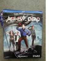 ASH VS. EVIL DEAD: SEASON 2 BLU-RAY DAMAGED SLIPCOVER AND CASE