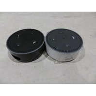 LOT OF 2* AMAZON ECHO DOT 2ND GEN BLACK AND WHITE BLACKLISTED!