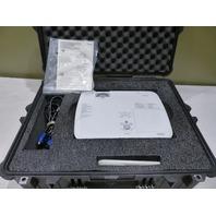NEC WIDESCREEN PORTABLE PROJECTOR 100-240VNP-311W W/ PROTECTIVE HARDCASE