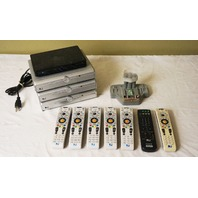 LOT OF 8* DIRECTV SATELLITE RECEIVERS D11 HD H25-100 SL3S4NR2-02 DRD420RE/ AS IS