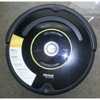 IROBOT ROOMBA 650 VACUUM CLEANING ROBOT DISPLAY MODEL - AS IS