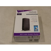 NETGEAR N300 WIFI CABLE MODEM ROUTER C3000-100NAS