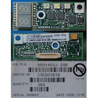 360* FLEXTRONICS NETAPP XYRATEX CIRCUIT BOARD MODULE 2 DIGIT LED 0931455J-20B